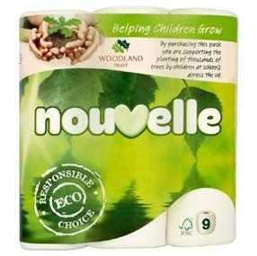 Nouvelle Soft Recycled Toilet Roll Pack of 45