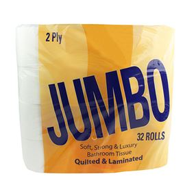 Quilted Toilet Roll 2 Ply Pack Of 32