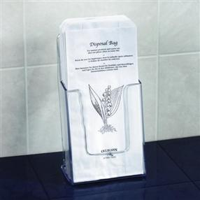 Paper Sanitary Bags and Holder