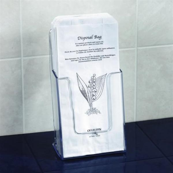 Paper Sanitary Bags And Holder Hygiene Supplies Out Of