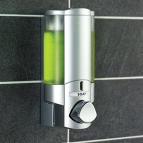 Aviva Chrome Translucent Dispenser, Lockable