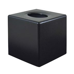 Corby Devon Cube Tissue Box Cover Black
