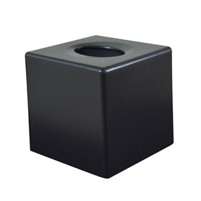 Corby Devon Cube Tissue Box Cover White