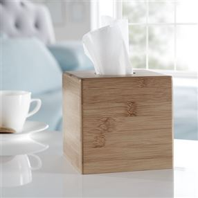 Wooden Bamboo Tissue Box Cover