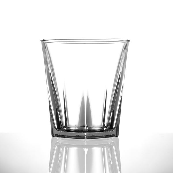 Crystal Look Plastic Glasses Bathroom Accessories Out