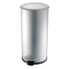 Addis 30 Litre Stainless Steel Cushion Close Pedal Bin