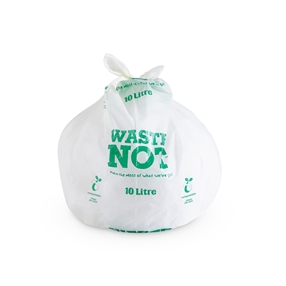 Compostable Caddy Liners, 20 Per Roll