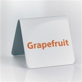 Grapefruit Juice Tent Sign