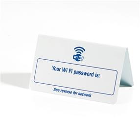 WiFi Password Signs Pack of Five
