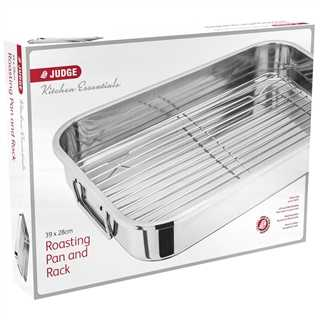 Judge Judge Speciality Roasting Pan & Rack