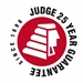Judge 25 Year guarantee
