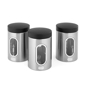 Addis Stainless Steel Canisters