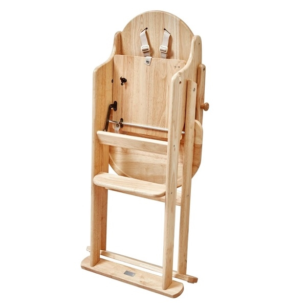 Folding High Chair with Tray