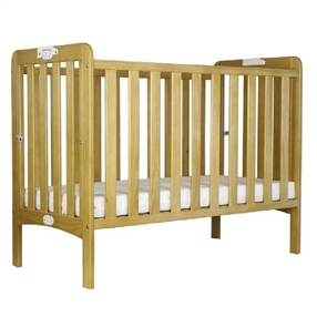 Huggabubba Ltd Holibobs Folding Cot with Waterproof Mattress