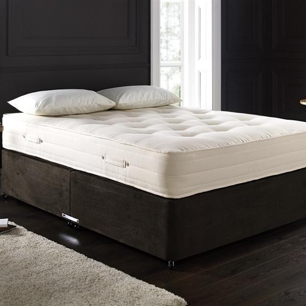 Deepdale 3000 pocket sprung mattress and divan base for Divan mattress base