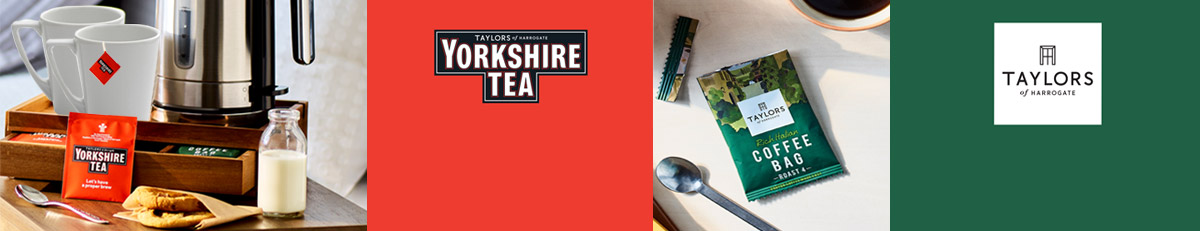 NEW Yorkshire Tea & Taylors Tea