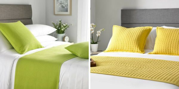Pop Of Colour in Soft Furnishings