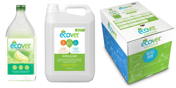 Ecover Refill Sizes