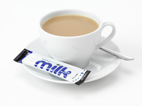 Coffee and Milk Sticks for Welcome Tray