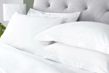 White Bed Linen High Thread Count