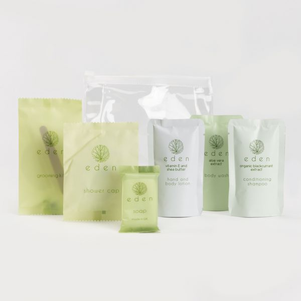 Eden Toiletry Welcome Pack Pouches
